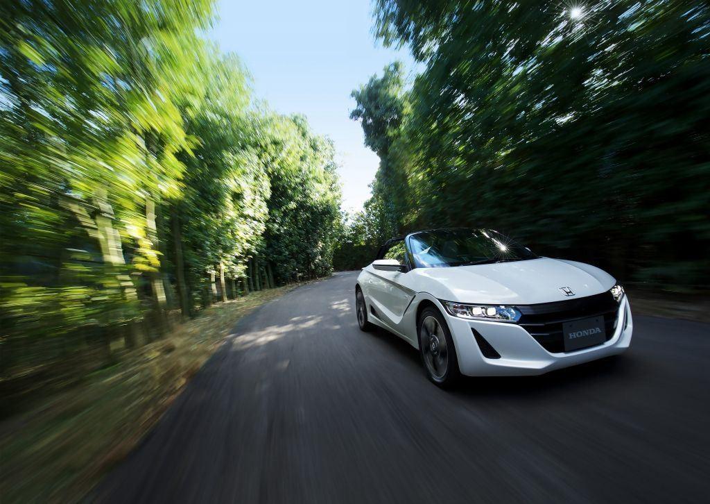 S660 Roadster : un cabriolet Honda réservé au Japon 1