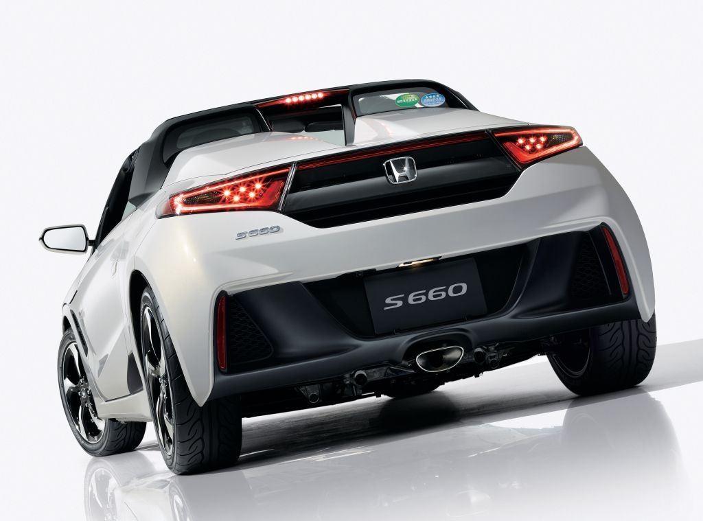 S660 Roadster : un cabriolet Honda réservé au Japon 2