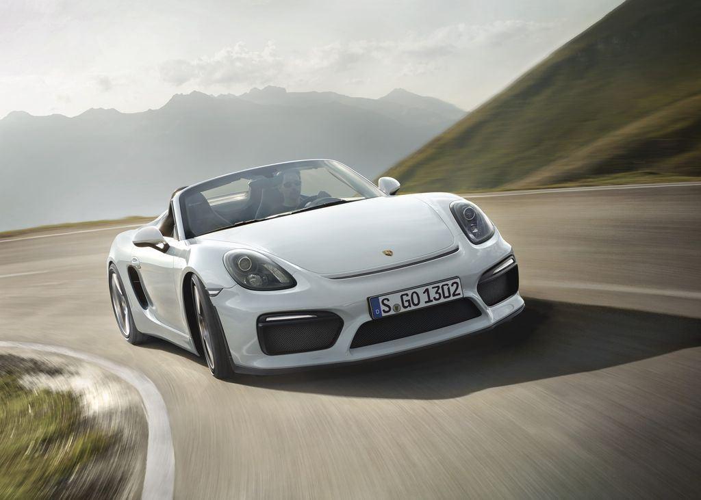 Porsche dévoile une nouvelle déclinaison Boxster Spyder 2