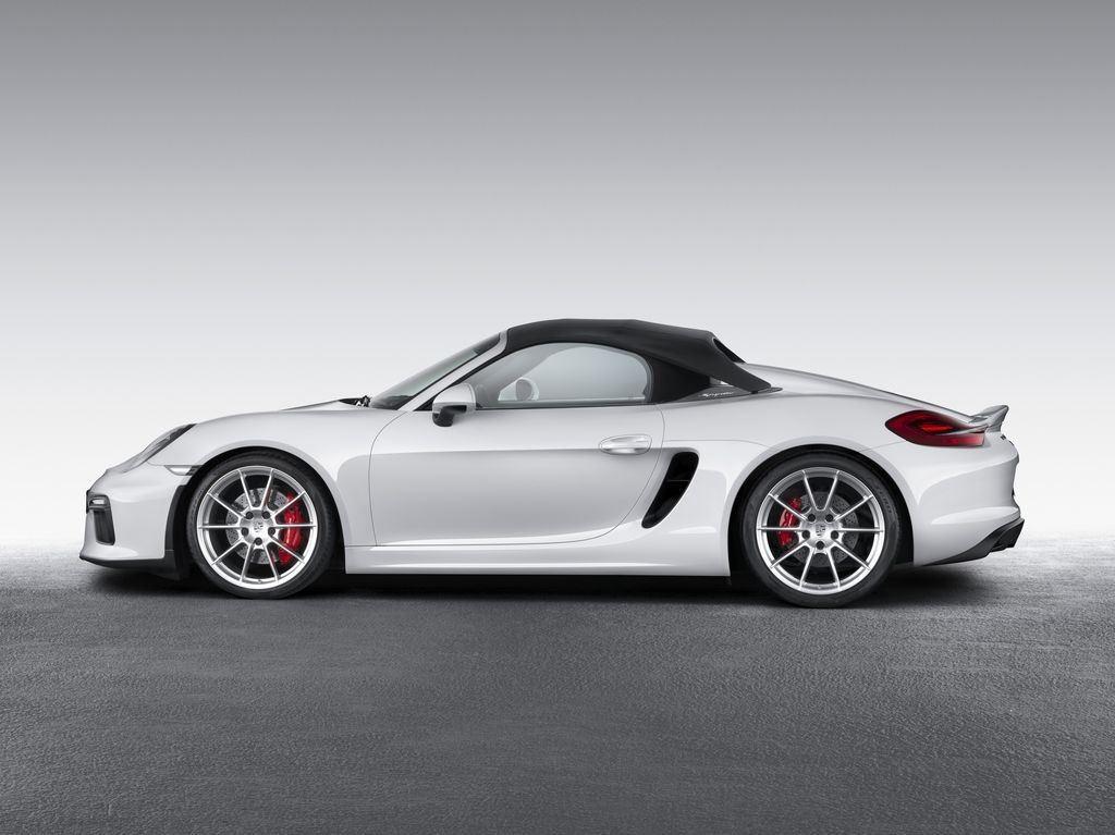 Porsche dévoile une nouvelle déclinaison Boxster Spyder 5