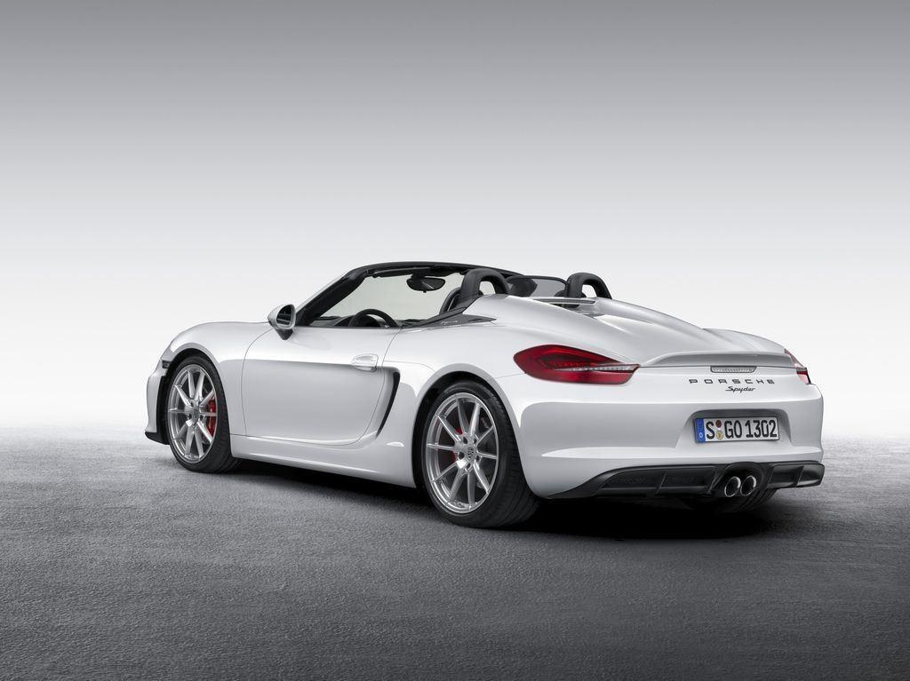 Porsche dévoile une nouvelle déclinaison Boxster Spyder 11