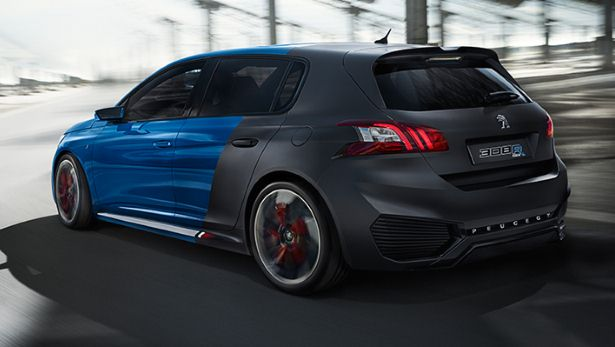 Peugeot : 500 chevaux sous le capot de la 308 R HYbrid 2