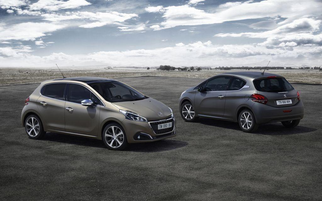 Peugeot : deux teintes texturées pour la 208 7