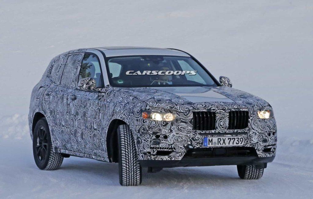 BMW teste son nouveau BMW X3 : des photos le prouvent 2