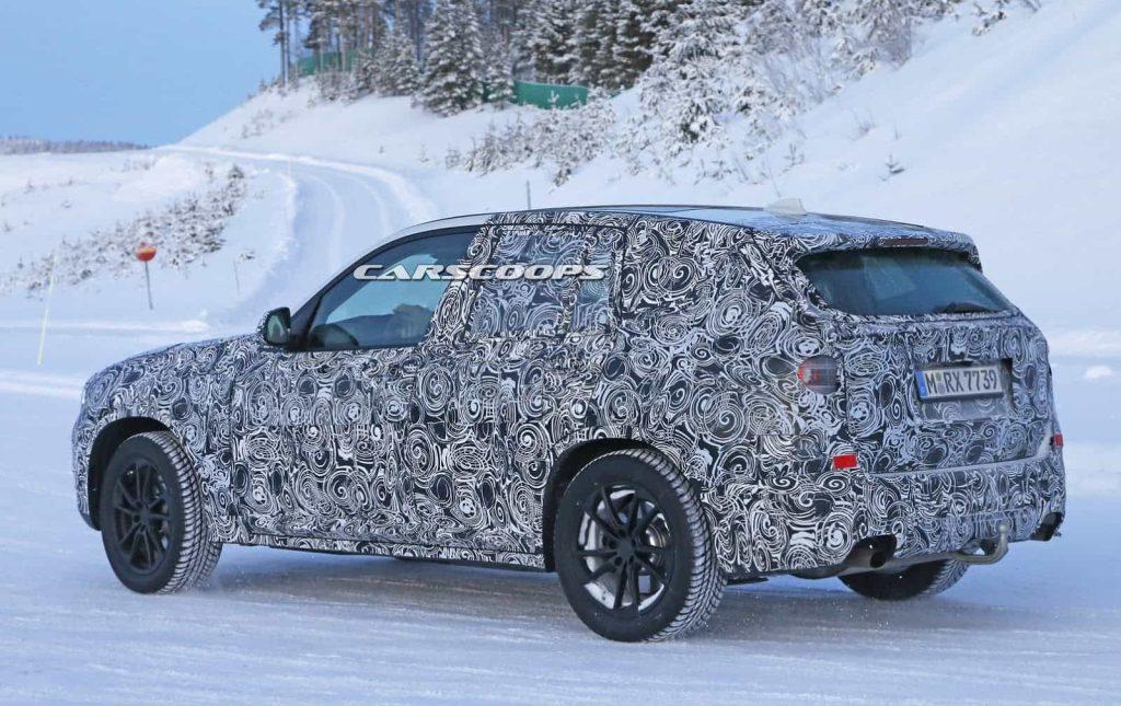 BMW teste son nouveau BMW X3 : des photos le prouvent 8
