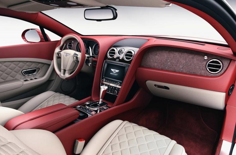 Bentley propose une personnalisation de l'habitacle en… pierre