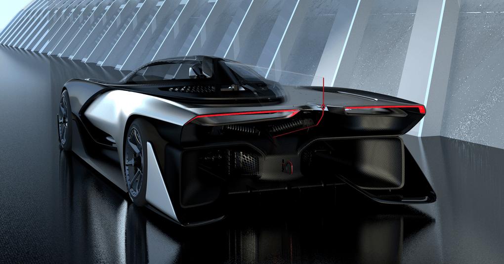 Faraday Future veut rivaliser avec Tesla sur le marché des voitures électriques, avec l'appui du groupe chinois LeTV 6