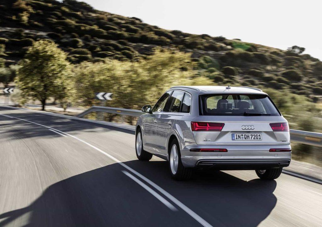 Il faut un porte-monnaie bien garni pour commander l'Audi Q7 hybride 7