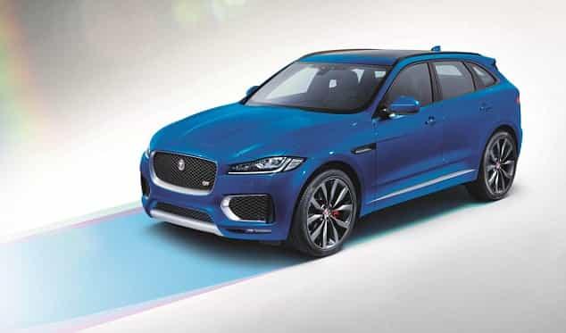 Jaguar F Pace se présente en force en Belgique