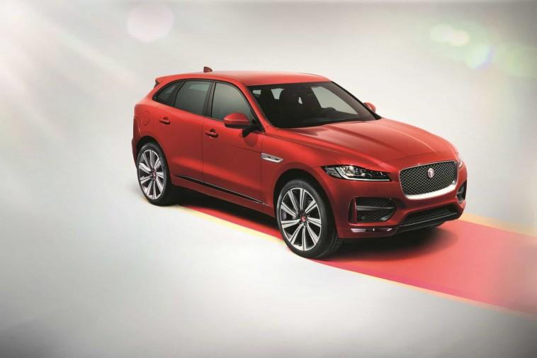 Jaguar F-Pace se présente en force en Belgique