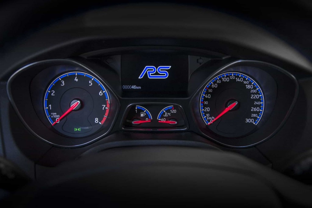 Sortie des chaînes de production de la première Ford Focus RS 4
