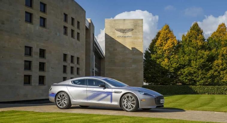 Avec la RapidE, Aston Martin compte aussi proposer une voiture électrique