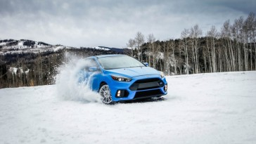 Ford souhaite que les acheteurs de la Ford Focus RS 2016 l'utilisent sur la neige