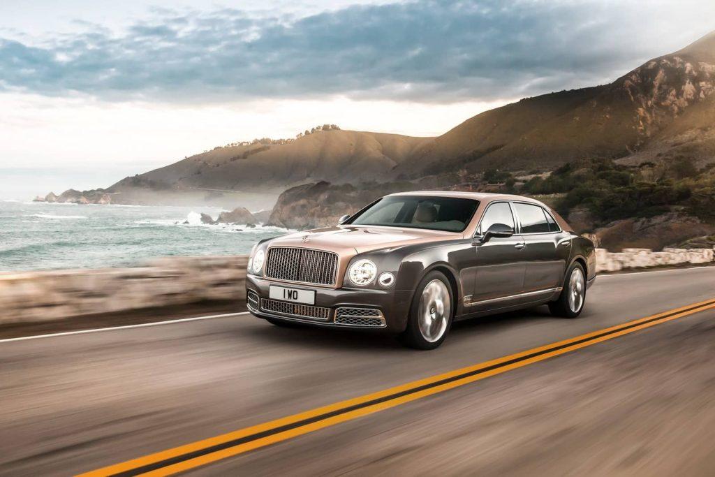 Bentley Mulsanne restylée