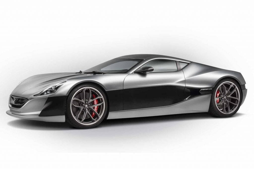 Grâce à ses 1088 ch, la Rimac Concept One passe de 0 à 100 km/h en 2,6 secondes