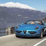 L'Alfa Romeo 8C Spider arrive en tant que Disco Volante Spyder