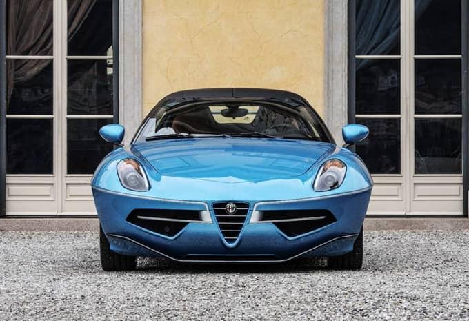 L'Alfa Romeo 8C Spider arrive en tant que Disco Volante Spyder 3