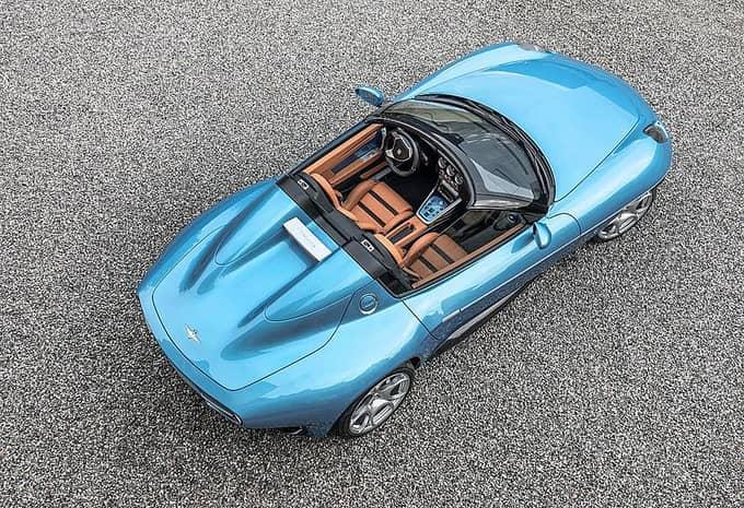 LAlfa Romeo 8C Spider arrive en tant que Disco Volante Spyder