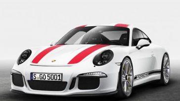 La Porsche 911 R se dévoile avant l'heure sur le web