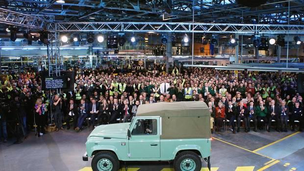 La production de la Land Rover Defender s'arrête définitivement ce vendredi