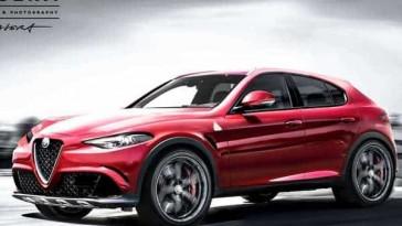 Le nom du futur SUV d'Alfa Romeo est Stelvio