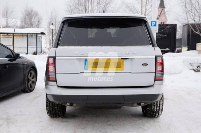 Le restylage du Range Rover caché par un camouflage 2