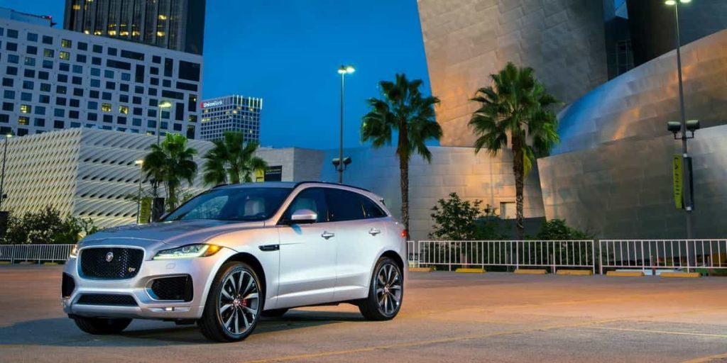 Le SUV F PACE de Jaguar s'affiche au Canada