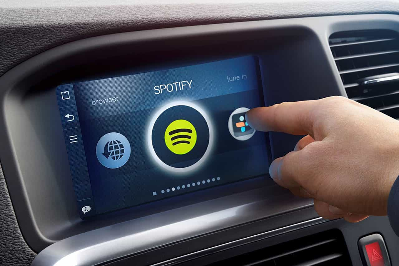 Le système multimédia des Volvo va intégrer nativement Spotify