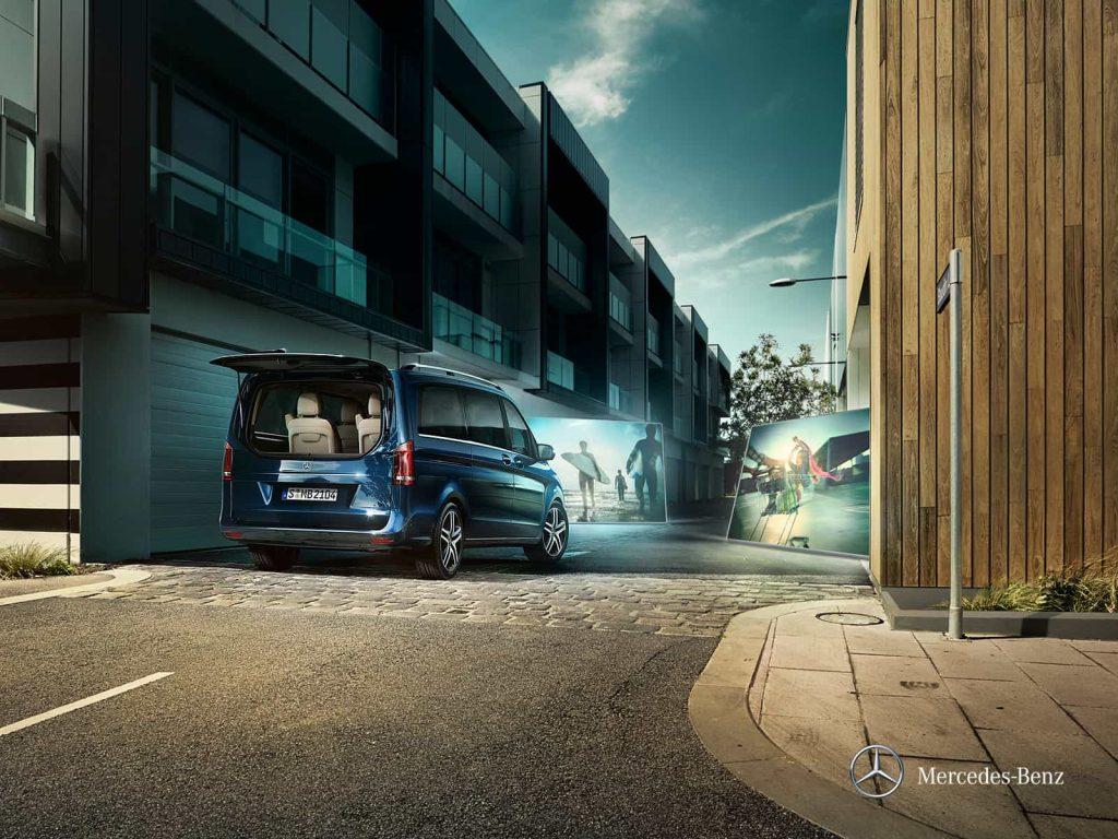 Mercedes Classe V Exclusive : une finition haut de gamme pour le grand véhicule familial de Mercedes 2