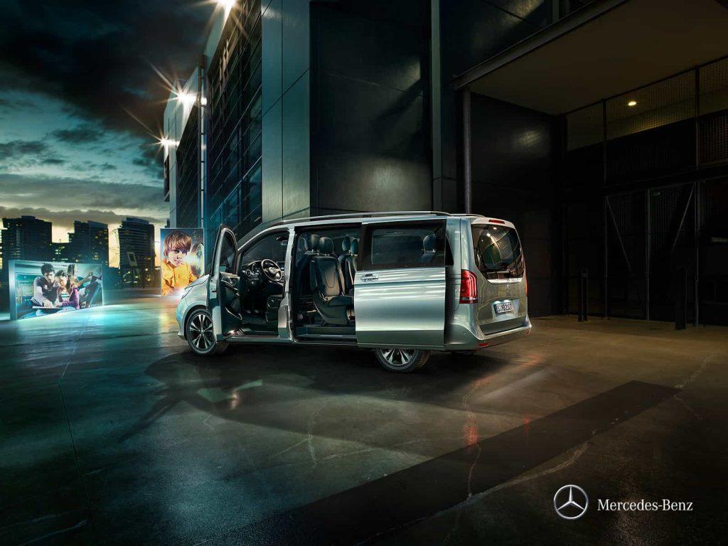 Mercedes Classe V Exclusive : une finition haut de gamme pour le grand véhicule familial de Mercedes 3