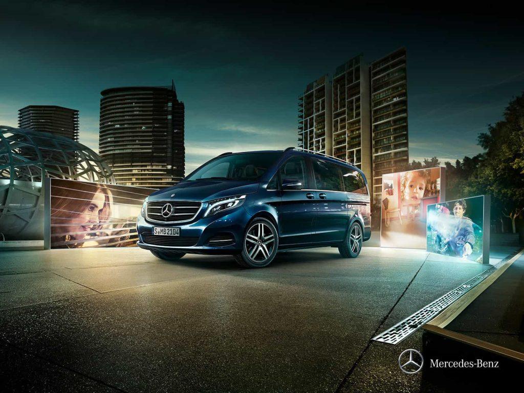 Mercedes Classe V Exclusive : une finition haut de gamme pour le grand véhicule familial de Mercedes 4