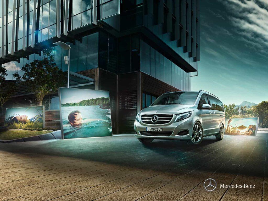 Mercedes Classe V Exclusive : une finition haut de gamme pour le grand véhicule familial de Mercedes 5