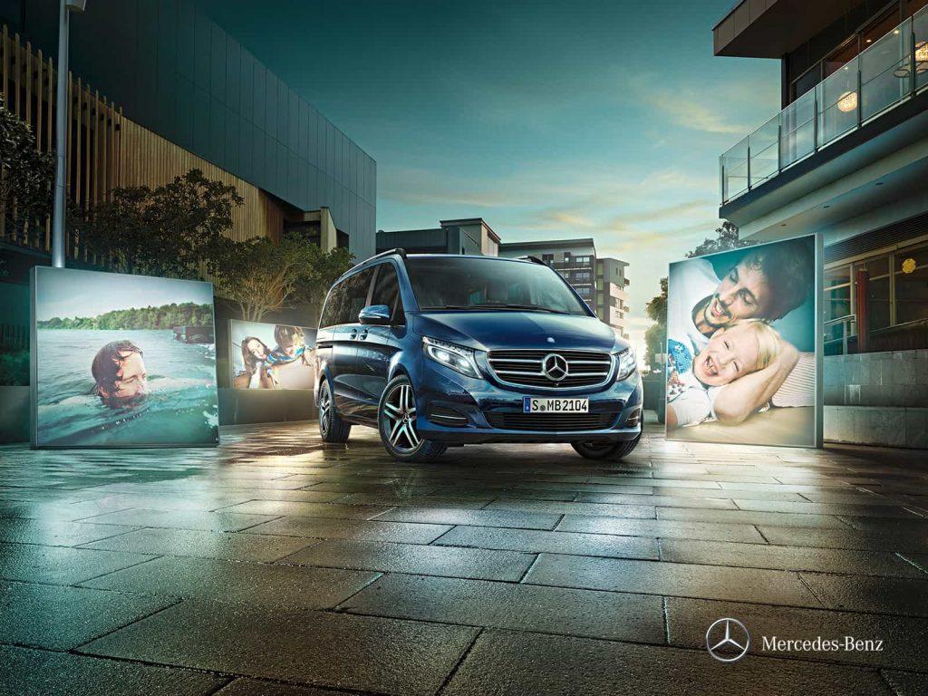 Mercedes Classe V Exclusive : une finition haut de gamme pour le grand véhicule familial de Mercedes 6
