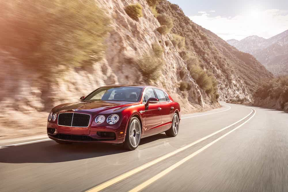Quelques chevaux de plus pour la Bentley Flying Spur V8 S
