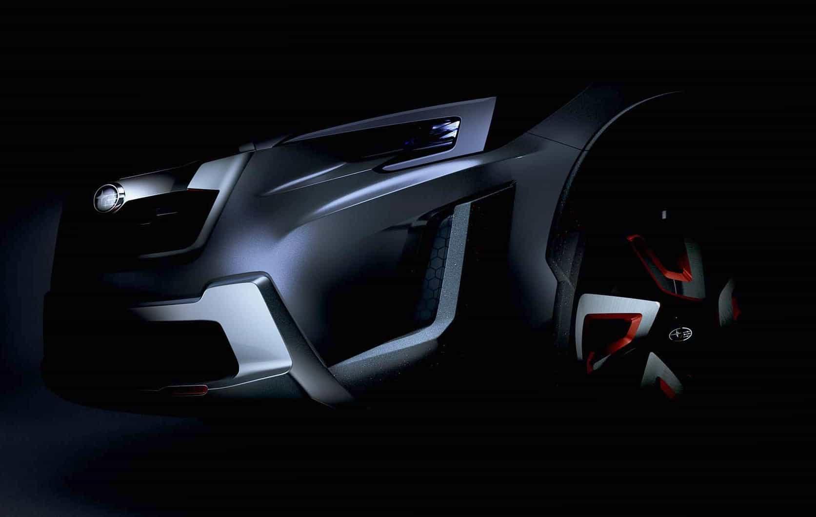Subaru XV concept teased