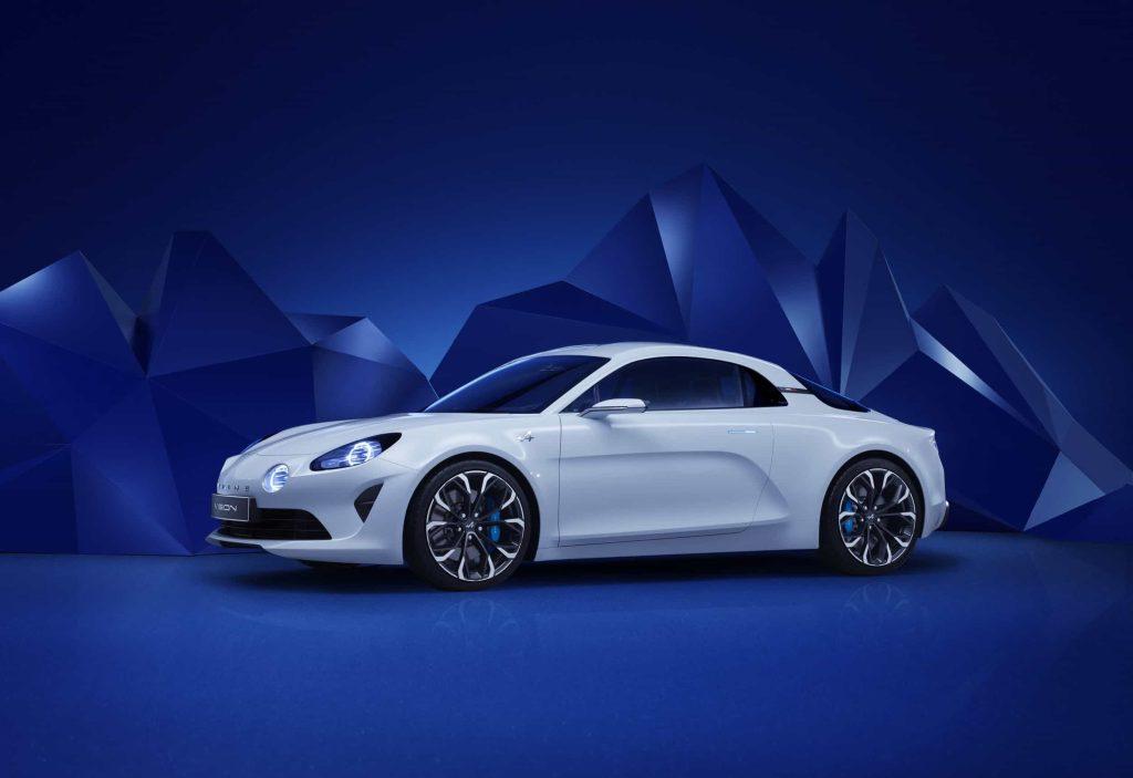 Un pas de plus vers la série avec l'Alpine Vision Concept 5