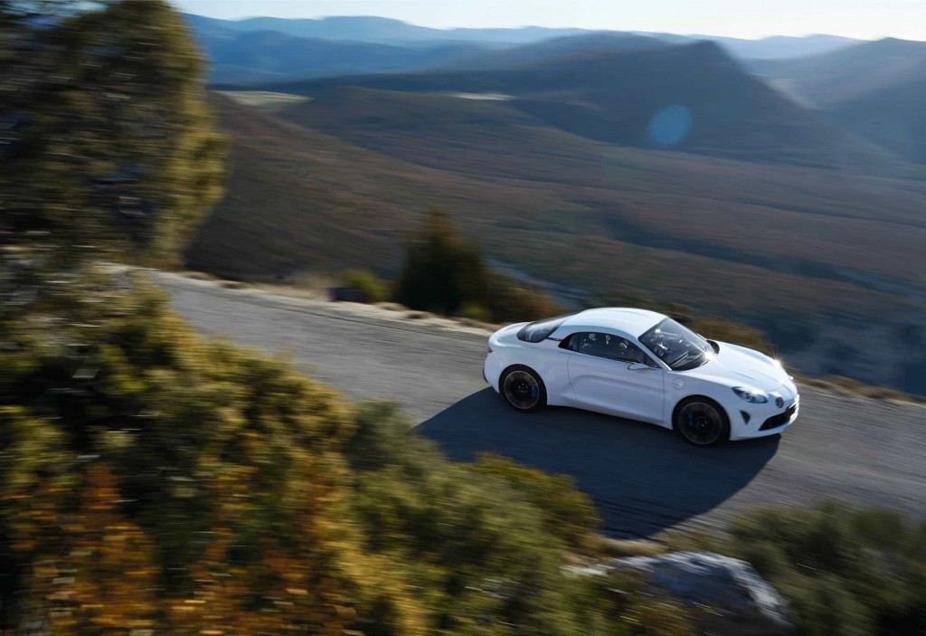 Un pas de plus vers la série avec l'Alpine Vision Concept 23