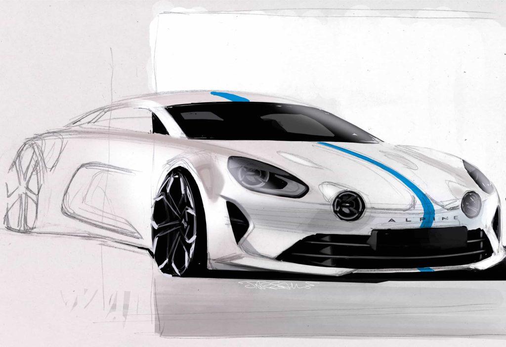 Un pas de plus vers la série avec l'Alpine Vision Concept 27