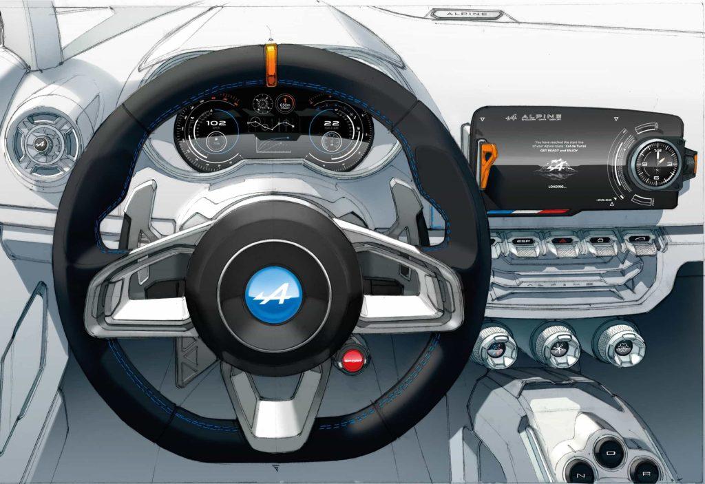 Un pas de plus vers la série avec l'Alpine Vision Concept 29