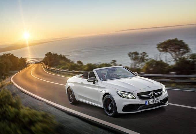 476 ch pour la Mercedes-AMG C 63 Cabriolet 1