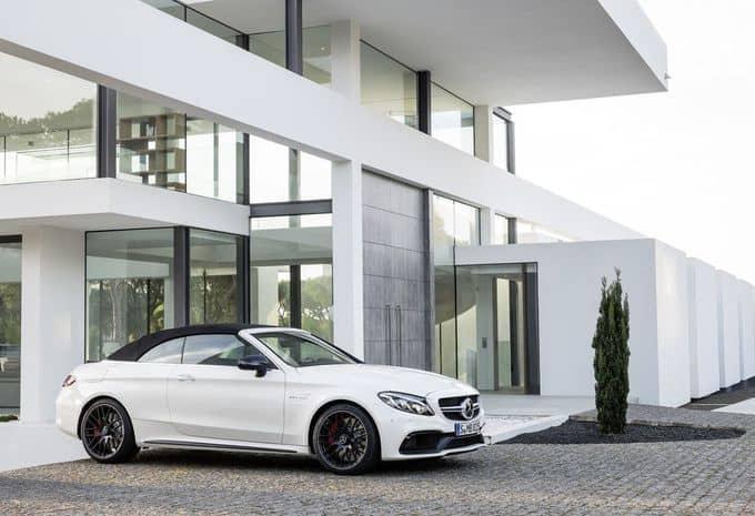 476 ch pour la Mercedes-AMG C 63 Cabriolet 4