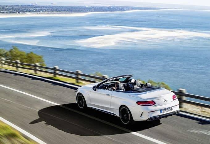 476 ch pour la Mercedes-AMG C 63 Cabriolet 8