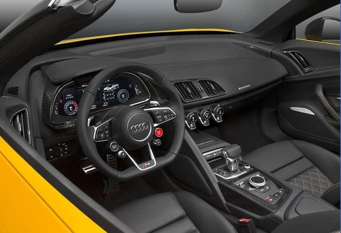 Audi présente une R8 Spyder qui rivalise avec le coupé R8 9