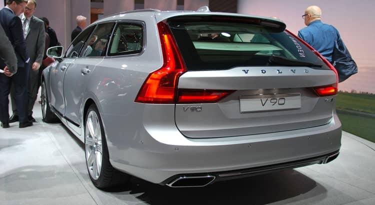 Avec le V90, Volvo met une fois de plus un break sous les projecteurs 2