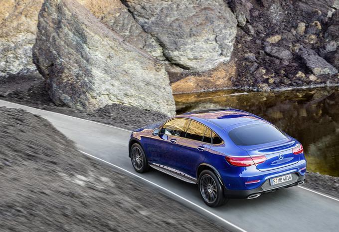 Avec son GLC Coupé, Mercedes s'attaque au X4 de BMW 3