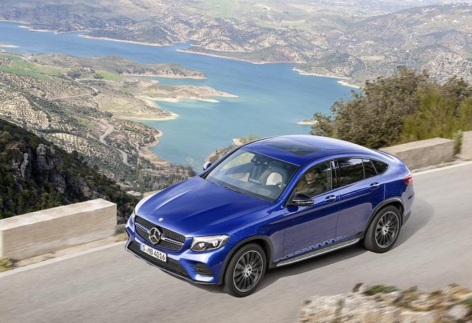 Avec son GLC Coupé, Mercedes s'attaque au X4 de BMW 4