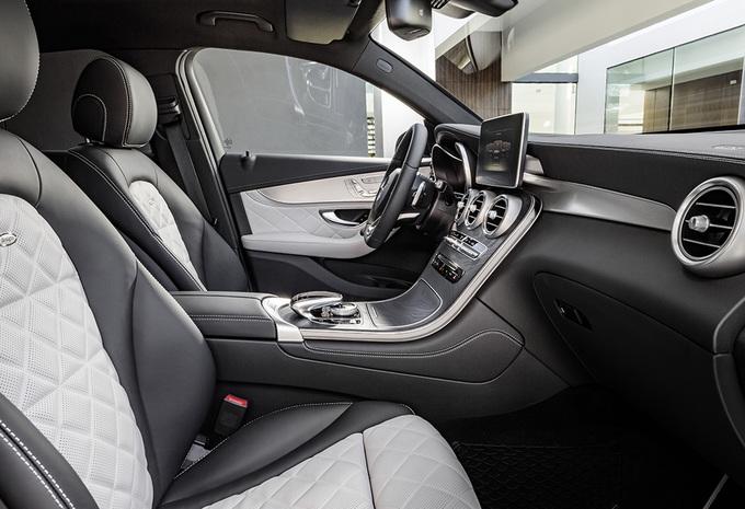 Avec son GLC Coupé, Mercedes s'attaque au X4 de BMW 7