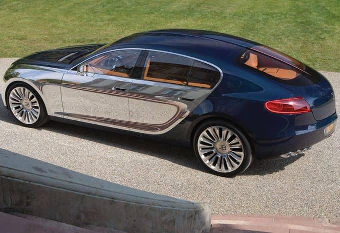 Avec une limousine 4 portes, le concept Galibier revient sous le feu des projecteurs chez Bugatti