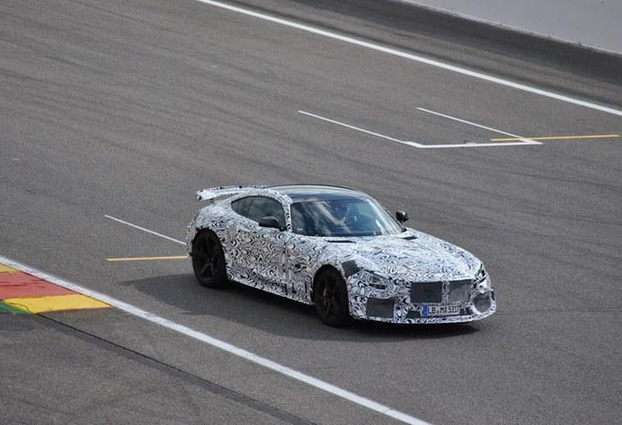 La Mercedes AMG GT Black Series