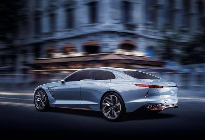 Hyundai : une Genesis New York Concept pour s'attaquer au marché des berlines de luxe hybride 2